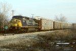 CSX C40-8W 7697