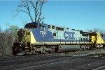 CSX C40-8W 7705