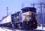 CSX C40-8W 7716