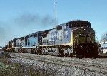 CSX C40-8W 7727