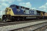 CSX C40-8W 7751