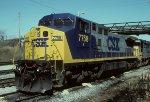 CSX C40-8W 7758