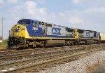 CSX C40-8W 7802