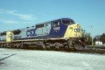 CSX C40-8W 7810