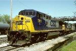 CSX C40-8W 7811