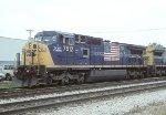 CSX C40-8W 7812