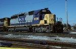 CSX SD40-2 8008