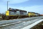 CSX SD40-2 8107
