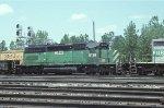 HLCX SD40-2 8138