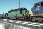HLCX SD40-2 8144
