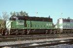 HLCX SD40-2 8154