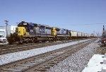 CSX SD40-2 8181