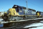 CSX SD40-2 8201