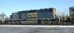 CSX SD40-2  8236