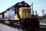 CSX SD40M-2 8319