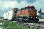 BNSF C41-8W 836