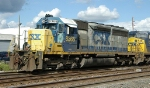 CSX SD40M-2 8365