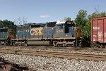 CSX SD40M-2 8376