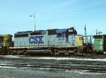 CSX SD40M-2 8404