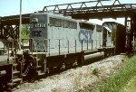 CSX SD40M-2 8406