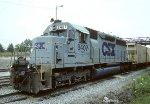 CSX SD40M-2 8407