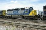 CSX SD40M-2 8876