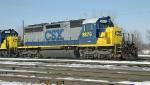 CSX SD40M-2 8879