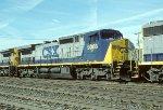 CSX C44-9W 9008