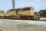 UP SD40-2 3499