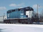 EMD SD-40-2 6040