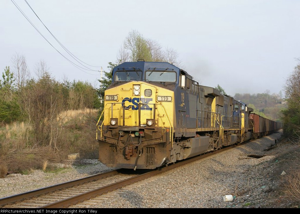 Northbound Coal Kingsport Sub