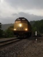CSX 9998 on P927-28 Northbound