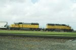 SD40-2s 8968 and 3105 Working The Hump Gateway Yard