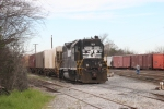 NS 5029 is switching at Albany, Ga.