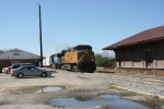 UP 9595 leads freight east out of Tennille, Ga.