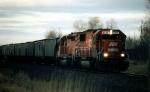 CP #6056 leads a Grain train