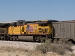 UP 5907 #1 DPU in EB coal train at 2:07pm