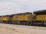 UP 5510 #3 power in an EB autorack/doublestack at 1:48pm