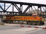 BNSF 7793 leads an EB empty grain train at 12:27pm