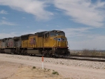 UP 5103 leads an EB intermodal at 1:12pm