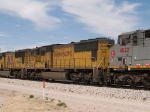 UP 4506 #3 power in an EB intermodal at 1:12pm