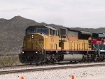 UP 8174 leads a WB grain train at 1:43pm