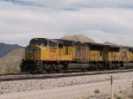 UP 3885 leads a WB intermodal at 2:00pm