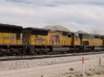 UP 3892 #2 power in a WB intermodal at 2:00pm