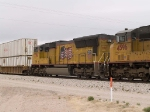 UP 3794 #4 power in an EB intermodal at 11:45am