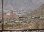 UP 5187 makes the turn towards El Paso