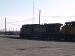 UP 6273 leads an EB empty grain train at 9:12am