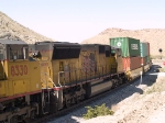 UP 3935 #3 power in an EB intermodal at 11:15am