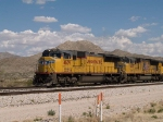 UP 4639 leads a WB intermodal at 2:52pm