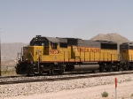 UP 9853 leads a WB autorack at 1:10pm